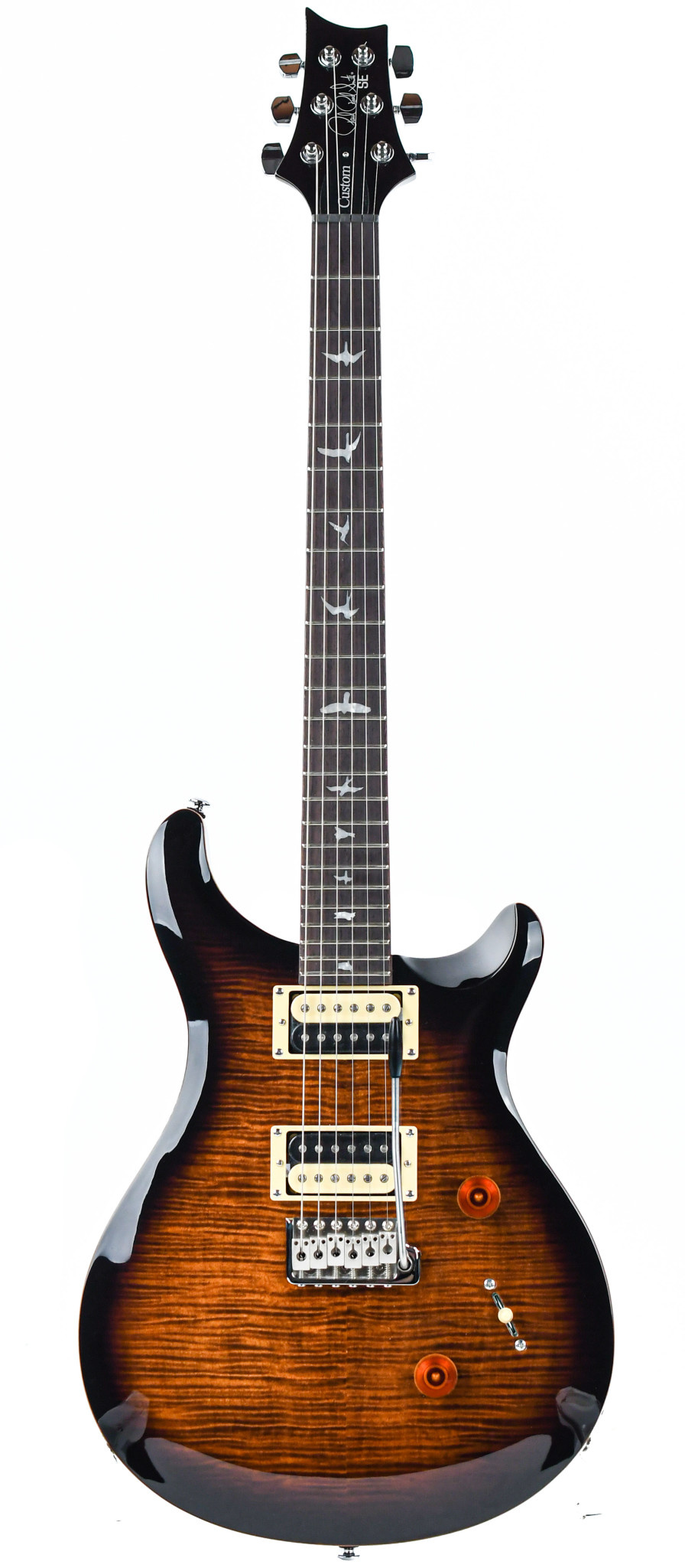 PRS SE Custom 24 Black Goldburst