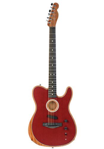 Fender Fender American Acoustasonic Telecaster Crimson Red