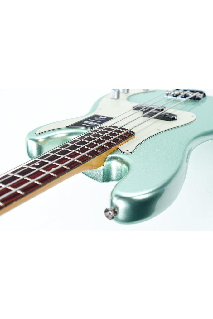 Fender American Pro II Precision Bass Mystic Surf Green