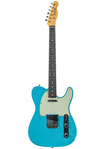 Fender Custom Fender Custom Shop 60 Telecaster Journeyman Relic Taos Turquoise