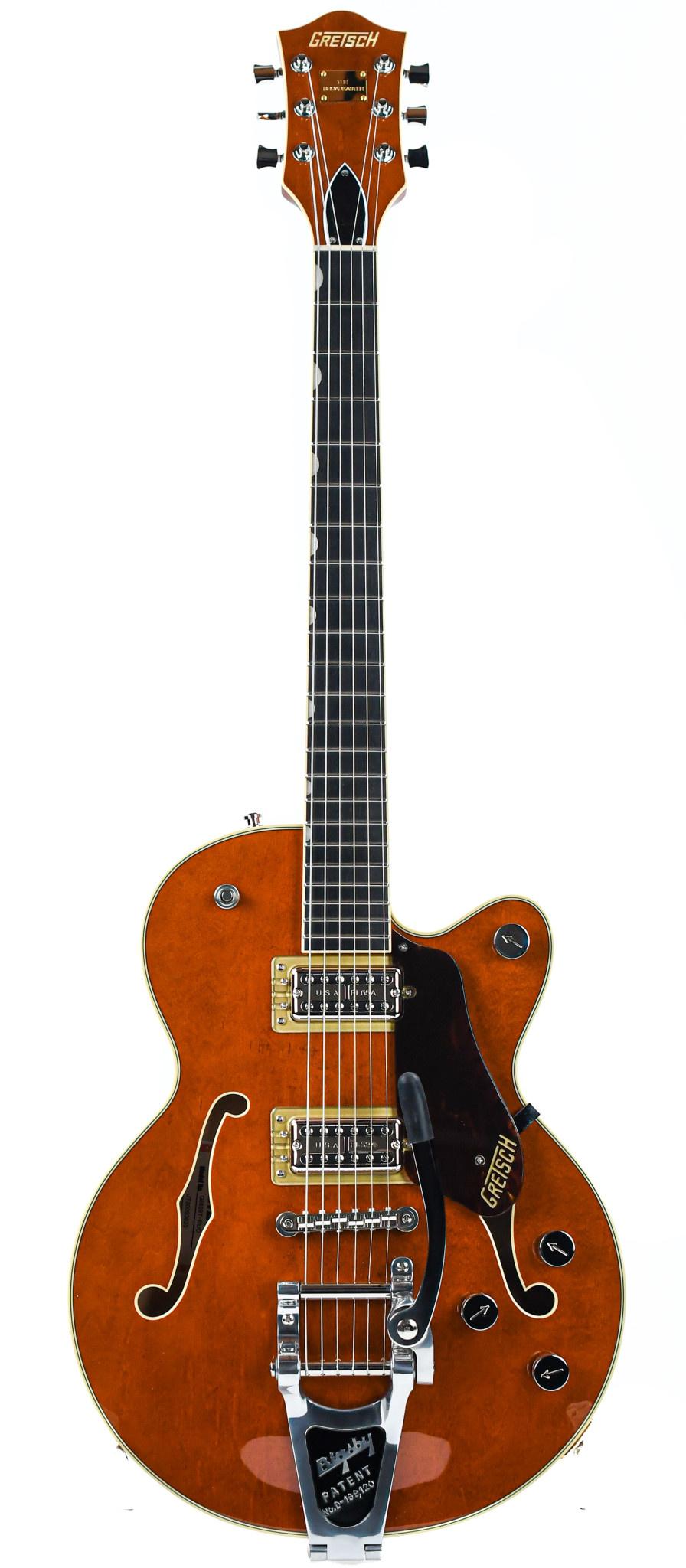 Gretsch G6659T Players Edition Broadkaster Jr. Roundup Orange