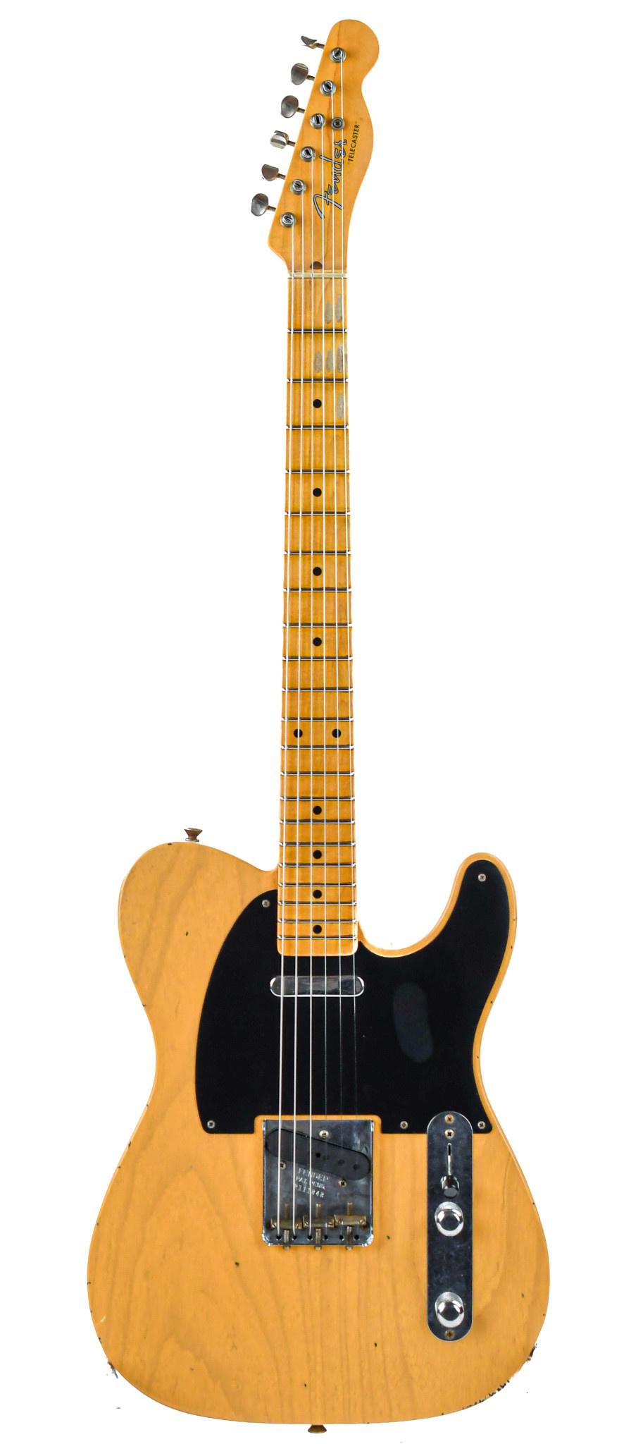 Fender Custom Shop 52 Telecaster Butterscotch Blonde Journeyman Relic