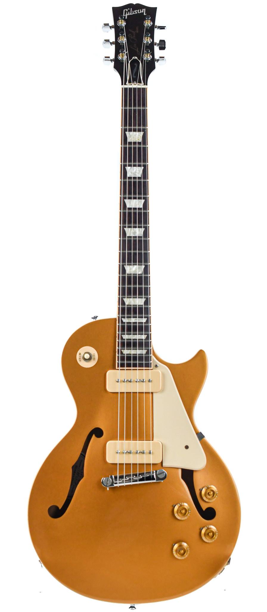 Gibson Memphis Custom ES Les Paul P90 Wraparound Gold Top 2015
