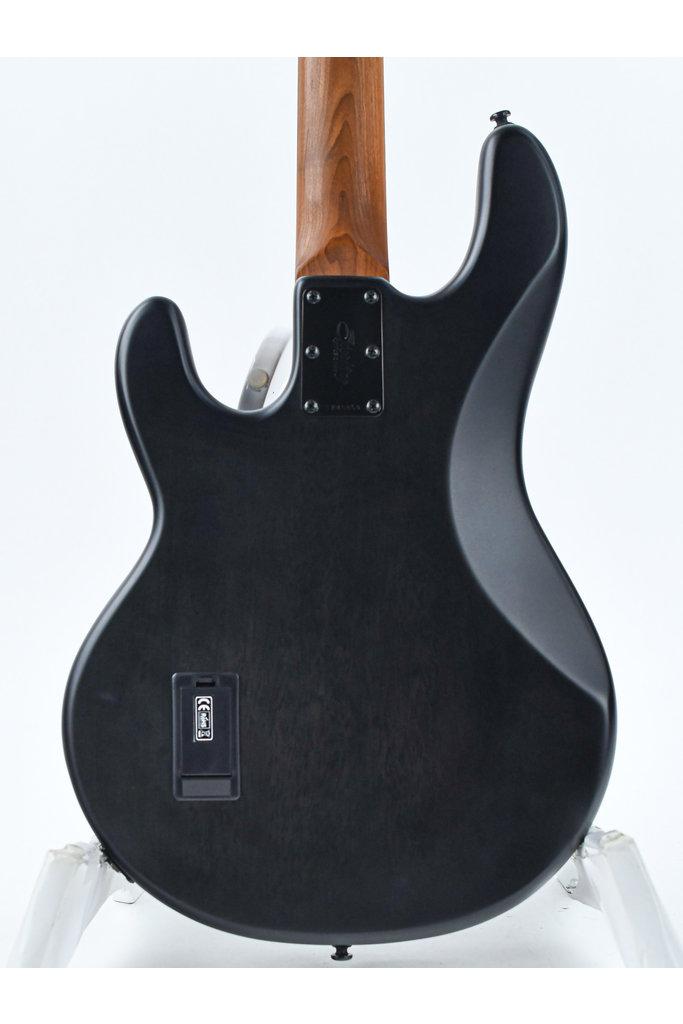 Sterling StingRay Ray34 PB Transparent Black Satin