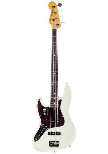 Fender Fender American Pro II Jazz Bass Olympic White RW Lefty