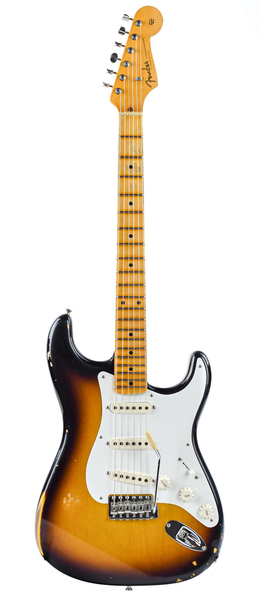 Fender Custom Shop 1956 Stratocaster Relic 2 Color Sunburst