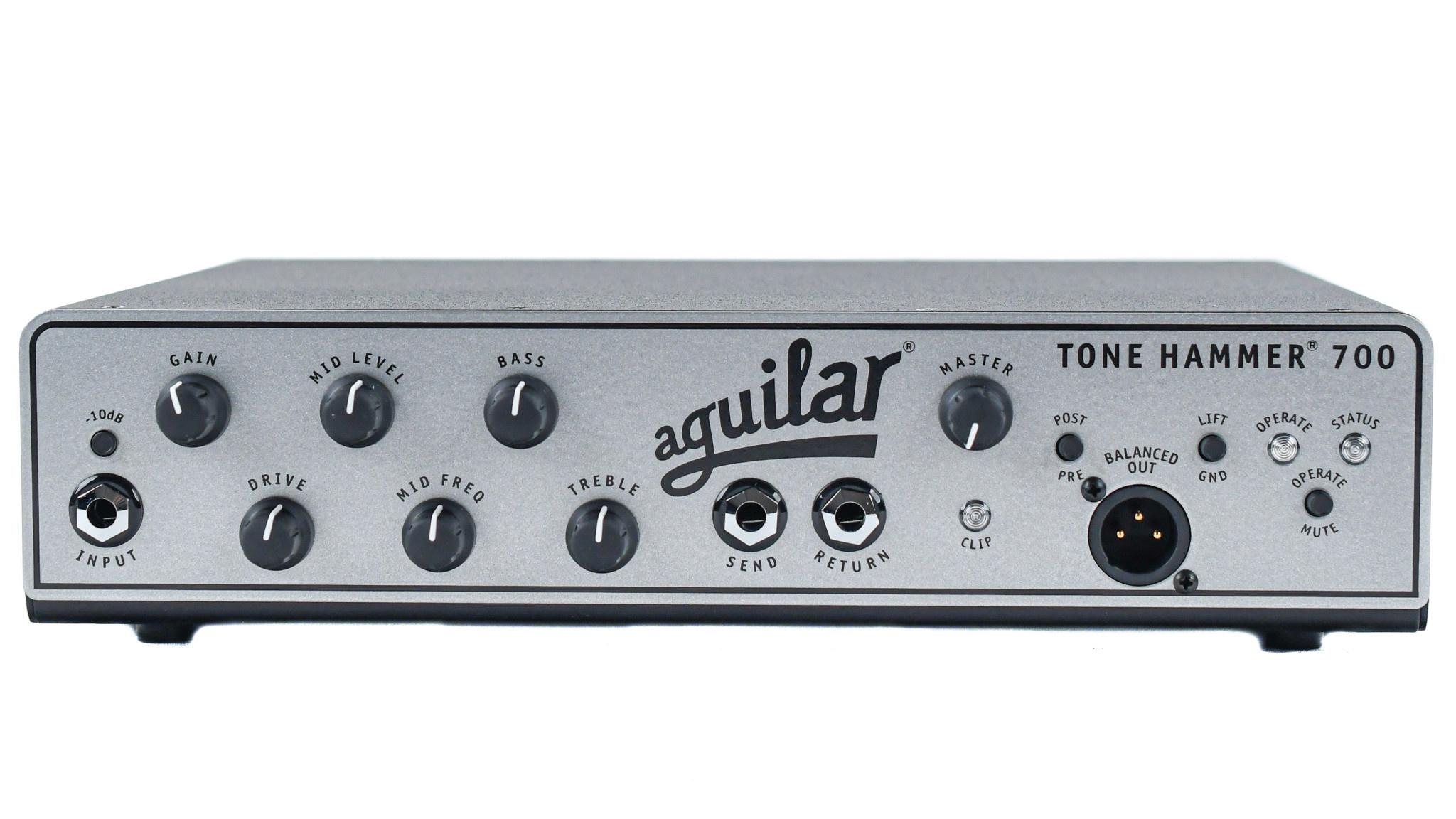 Aguilar Tone Hammer 700 Bass Head