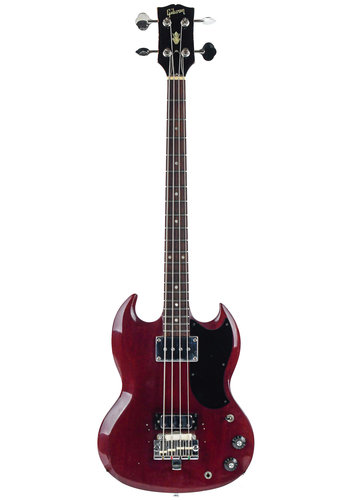 Gibson Gibson EB0 Conversion EB3 Cherry Red 1969