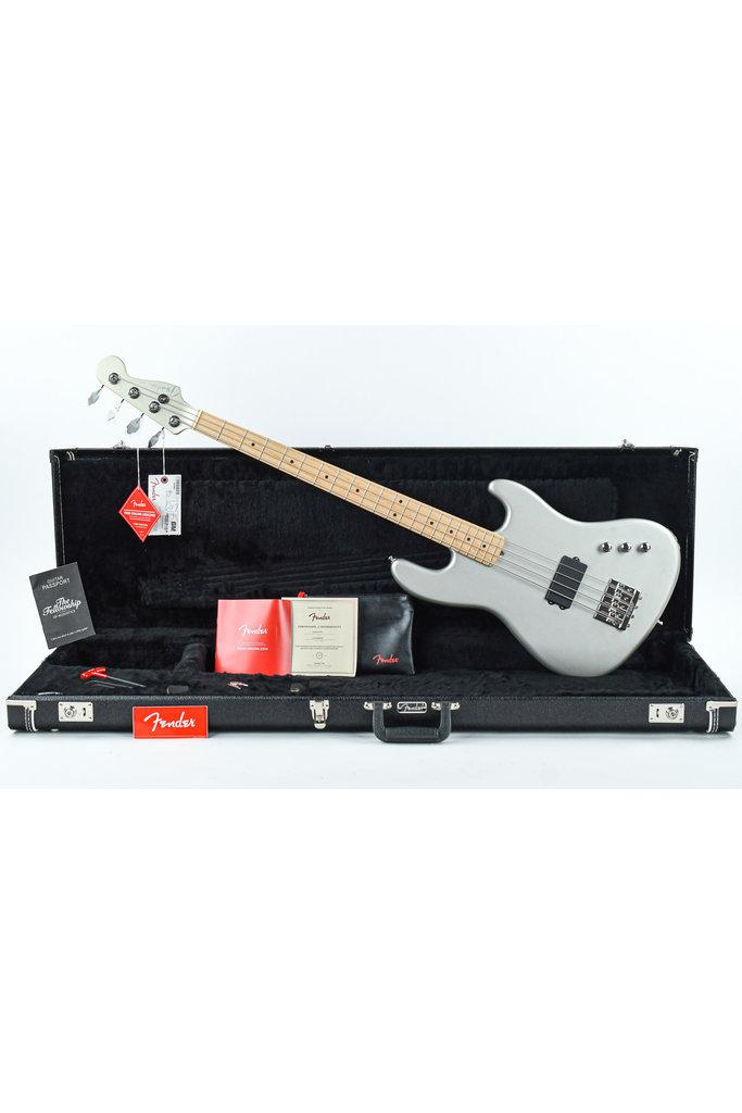 Fender Flea Signature Active Jazz Bass Satin Inca Silver