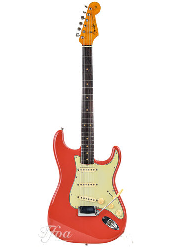 Fender Fender Stratocaster Fiesta Red Refin 1963