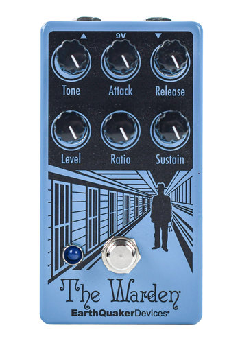 EarthQuaker Devices Earthquaker Devices the Warden V2 Optical Compressor