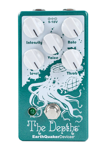 EarthQuaker Devices Earthquaker Devices The Depths V2 Optical Vibe Machine