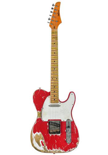 Siggi Braun Siggi Braun Custom Shop T Style Dakota Red Master Relic 2020