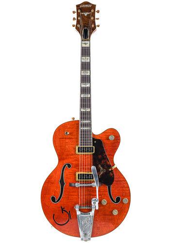 Gretsch Gretsch Custom Shop G6120CST Dark Orange Relic