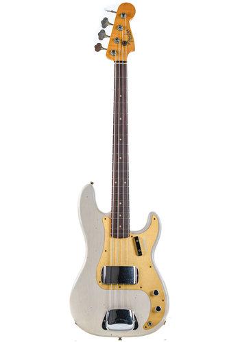 Fender Custom Fender 59 P Bass Relic White Blonde Journeyman Relic