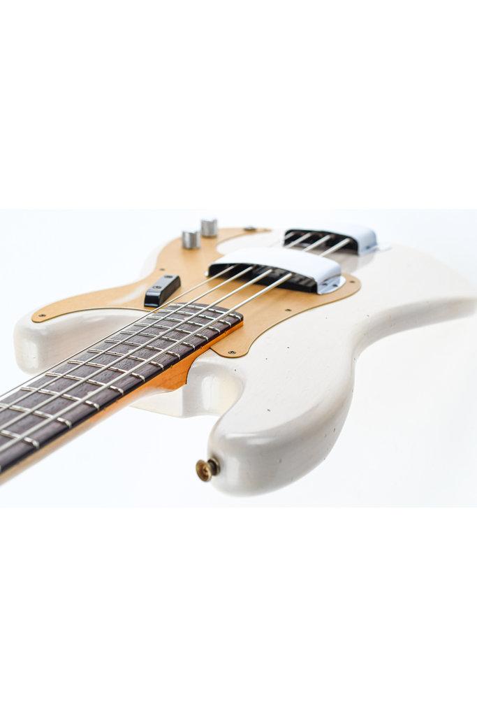 Fender 59 P Bass Relic White Blonde Journeyman Relic