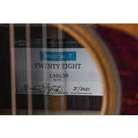 Rozawood Twenty Eight D Torrefied Alpine Spruce Rosewood #200630