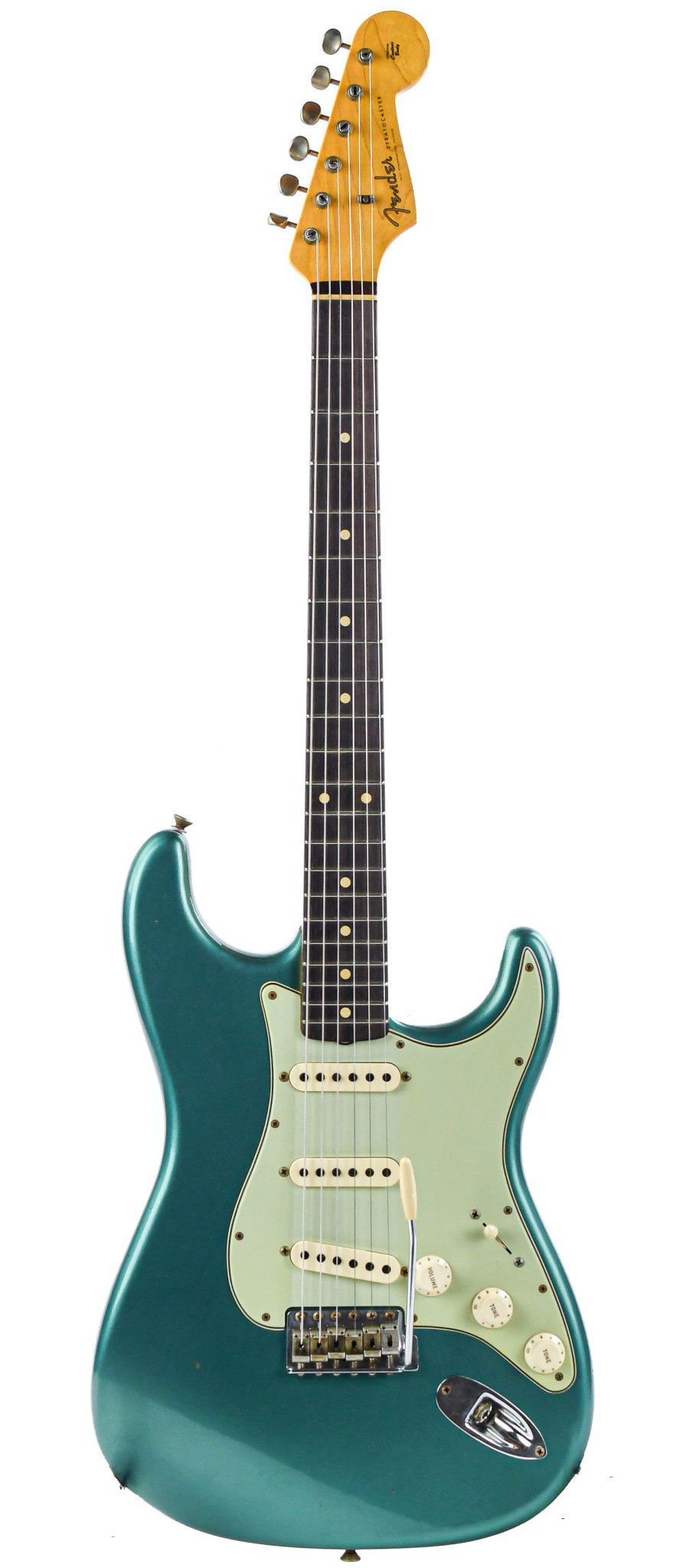 Fender Custom Shop '60s Stratocaster Relic Sherwood Metallic