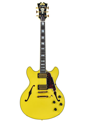 D'Angelico DC Deluxe Yellow Matte 2017