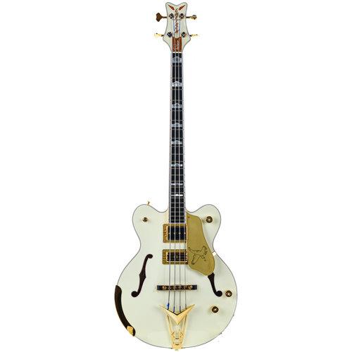 Gretsch Gretsch G6136BTP Tom Petersson Signature Falcon Bass Aged White