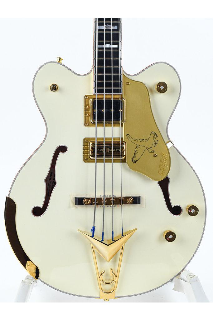 Gretsch G6136BTP Tom Petersson Signature Falcon Bass Aged White