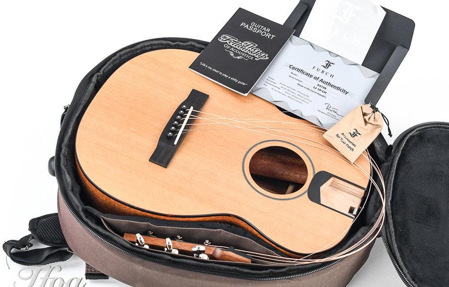 Ik ga op reis en ik neem mee...mijn gitaar!