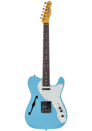 Fender Custom Fender Custom 60 Telecaster Thinline Journeyman Daphne Blue