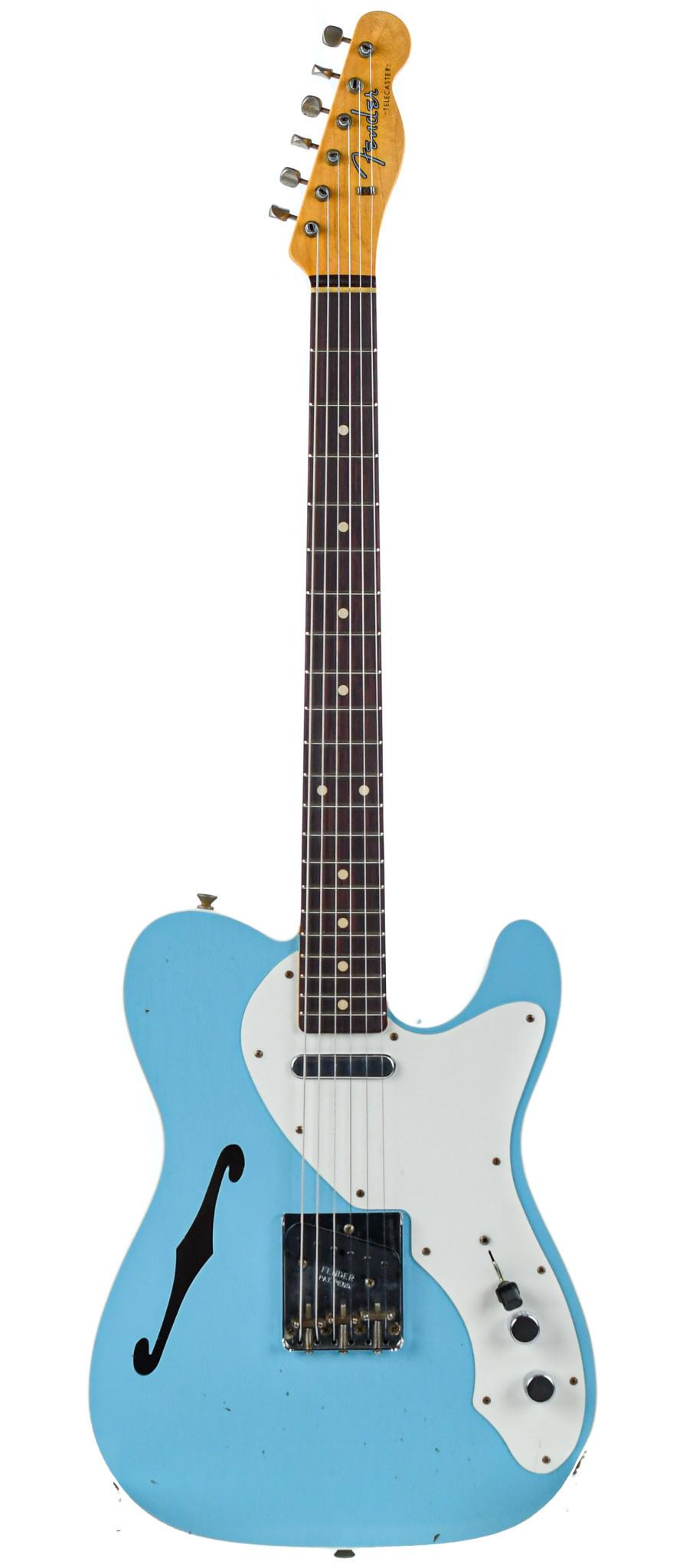 Fender Custom 60 Telecaster Thinline Journeyman Daphne Blue