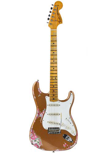 Fender Custom Fender Custom Shop NAMM 69 Stratocaster Gold Over Paisley Relic 2017