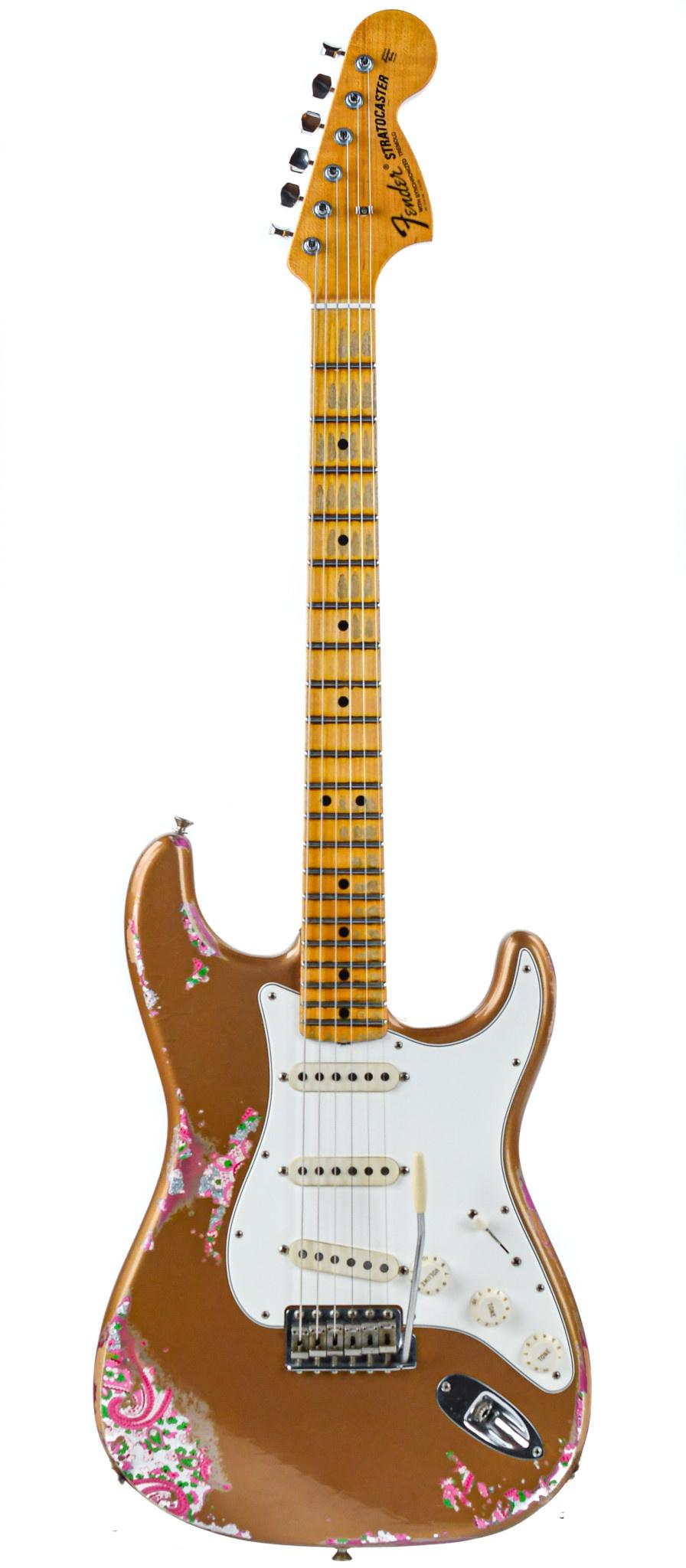 Fender Custom Shop NAMM 69 Stratocaster Gold Over Paisley Relic 2017