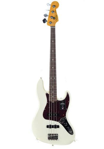 Fender Fender American Pro II Jazz Bass Olympic White RW