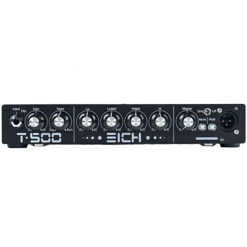 Eich Amplification Eich T500BE Black Edition Bass Head