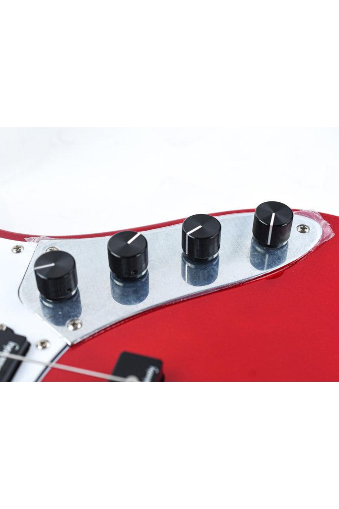 Sadowsky MetroExpress Hybrid P/J Bass 4 String Candy Apple Red