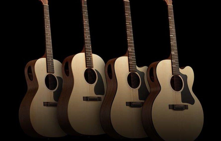 The new Gibson Generation Collection, made in the USA and very affordable!