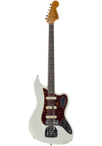 Fender Custom Fender Custom Shop Bass VI Journeyman Aged Olympic White