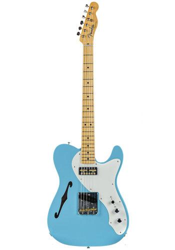 Fender Custom Fender Custom Shop 50s Telecaster Thinline Masterbuilt Ron Thorn Daphne Blue