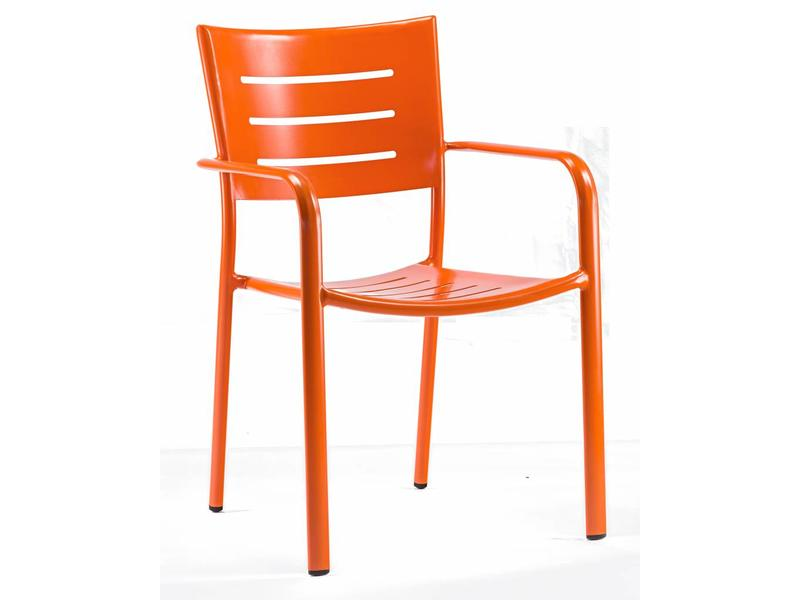 Stoel James oranje