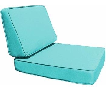 Kussenset voor Parijs loungeset - blauw