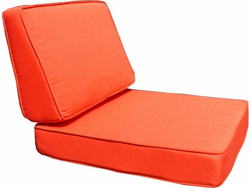 Kussenset voor Parijs loungeset - oranje
