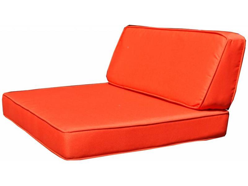Kussenset voor Londen tussendeel - oranje