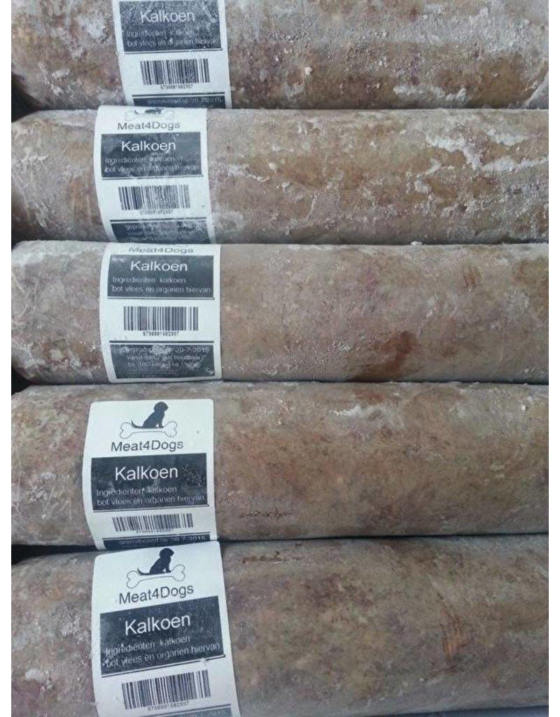 Meat4Dogs Meat4Dogs Kalkoen 16 x 1 kilo