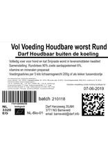 VOL voeding Houdbare worst Rund 500 gr