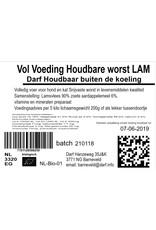 VOL voeding Houdbare worst Lam 200 gr