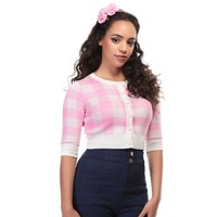 Collectif: Lucy Cardigan 'GINGHAM'