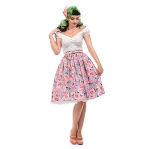 Collectif: Vintage Country Garden Swing Skirt 'JASMINE'