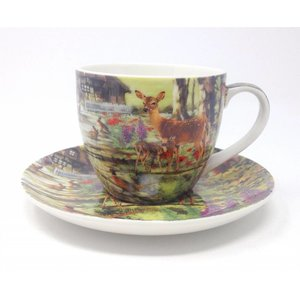 ALL CREATURES TEACUP & SAUCER