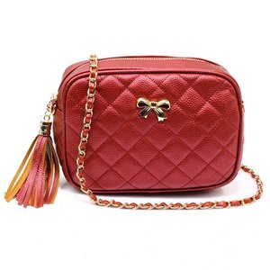 Anna Grace: Cross Body Schoudertas, rood