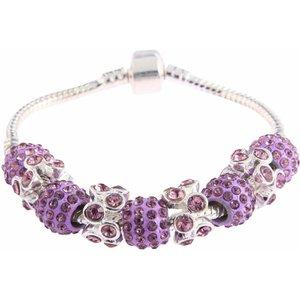 Crystal Bracelet. Diverse kleuren.