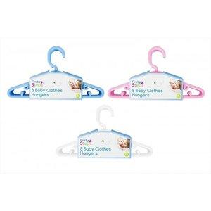 First Steps: Baby Kleding Hangers, set van 8 stuks