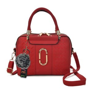 Red Bag with Metal